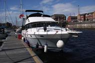 45-foot flybridge cruiser, the Iantha